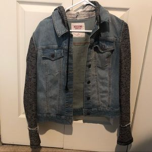 Jean Sweater Jacket